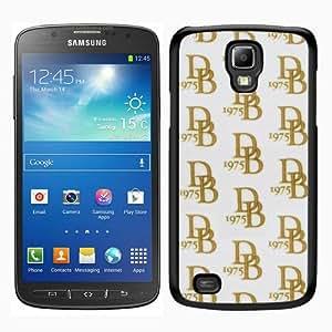 Dooney Bourke DB 09 Black Samsung Galaxy S4 Active i9295 Screen Phone Case Grace and Fashion Design