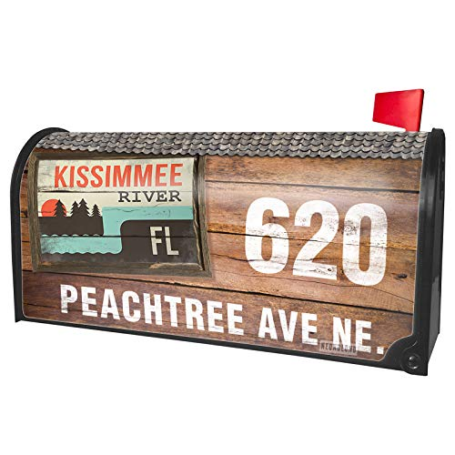 NEONBLOND Custom Mailbox Cover USA Rivers Kissimmee River - Florida