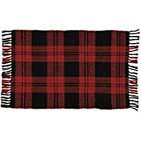 Park Designs 680-25 Buffalo Check Rag Rug, 24 x 42
