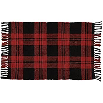 Amazon Com Park Designs Buffalo Check Rag Rug 24x42 24