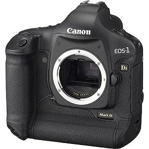 Amazon.com : Canon EOS 1Ds Mark III DSLR Camera (Body Only