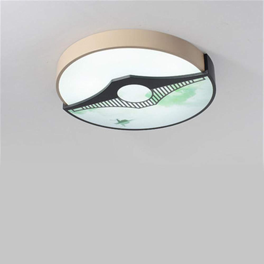辽阳世纪电子产品贸易中心 中国の天井灯現代のミニマリストのリビングルームのランプの寝室中国風の研究通路スタイルの照明 (色 : C, サイズ : 40cm) 40cm C B07TNFLGXM