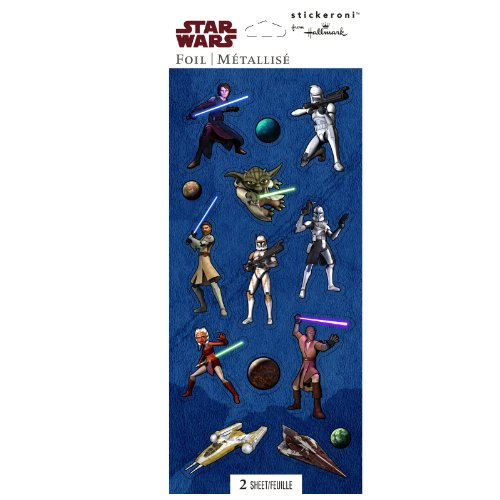 Hallmark - Star Wars: The Clone Wars Holographic Sticker Sheets