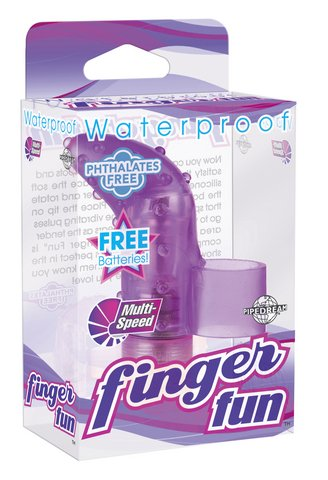 UPC 603912155280, Pipedream Products Waterproof Finger Fun, Purple