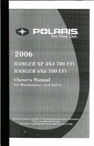 polaris ranger owners manual - 2