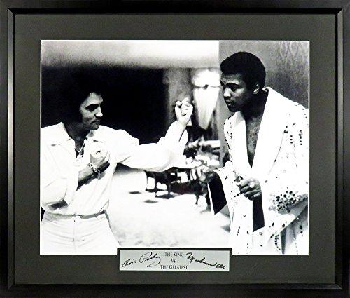 Elvis Signature Glasses - Elvis Presley & Muhammad Ali