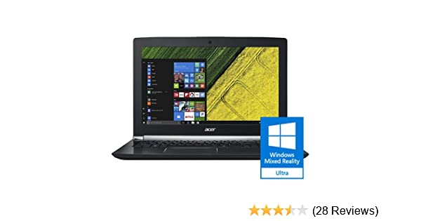 "Acer Aspire V 15 Nitro Black Edition Gaming Laptop, Core i7, GeForce GTX  1060, 15 6"" Full HD, 16GB DDR4, 256GB SSD, 1TB HDD, VN7-593G-73KV"