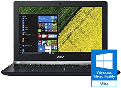 "Acer Aspire V 15 Nitro Black Edition Gaming Laptop, Core i7, GeForce GTX 1060, 15.6"" Full HD, 16GB DDR4, 256GB SSD, 1TB HDD, VN7-593G-73KV"