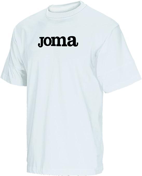 Joma - Camiseta Algodon Basic BCO m/c Pack 10 para Hombre: Amazon ...