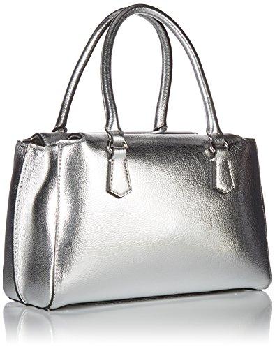 silver H Argento Borsa A sil Felix L w Mano X Cm Donna Guess 28x18x14 64qYUBF