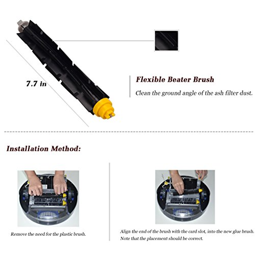 Vacuum Replacement Parts for iRobot Roomba 675 690 650 605 680 660 595 585 564