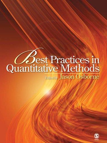 Download Best Practices in Quantitative Methods Pdf