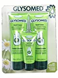 Glysomed Hand Cream Combo 3 Pack (2 X Large Tube 8.5 Fl Oz + 1 X Purse Size 1.7 Fl Oz)