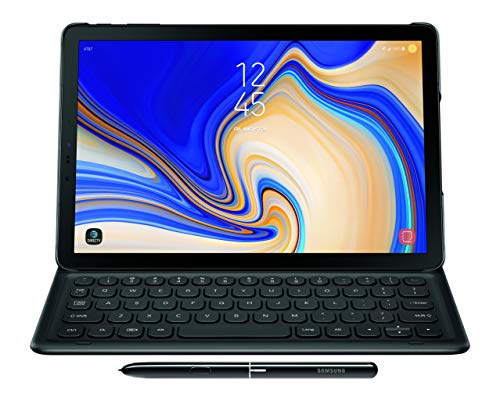 - Samsung Electronics EJ-FT830UBEGUJ Galaxy Tab S4 Book Cover Keyboard, Black