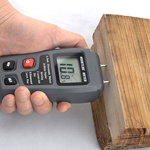 LESHP Moisture Portable Detector Hygrometer