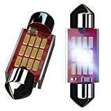 3022 led bulb - NINEO 31mm LED Bulbs 12-SMD Canbus Error Free 800 Lumens for 3022 3021 Interior Door Dome Map Trunk Luggage Courtesy License Plate Lights 6000K Xenon White