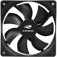 Cooler Storm 8 Cm, C3Tech, F7-50Bk, Acessórios para Computador