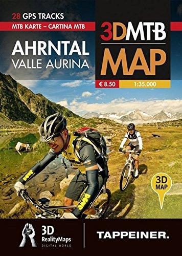 Moutainbike-Karte Ahrntal: Cartina Mountainbike Valle Aurina (Mountainbike-Karten)