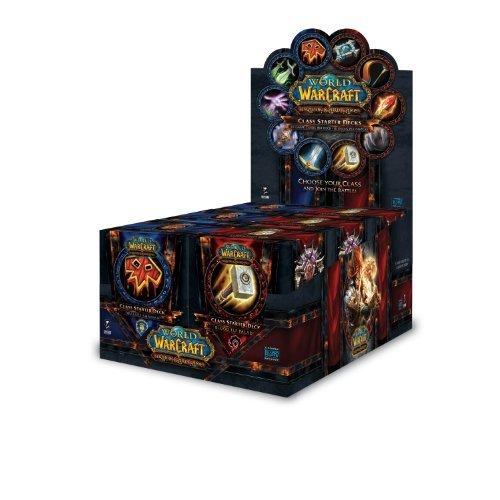World of Warcraft TCG: Fall 2011 Class Starter Deck Display (10) ()
