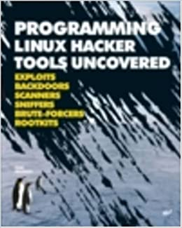Programming Linux Hacker Tools Uncovered: Exploits, Backdoors
