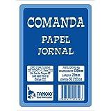 Tamoio 1052,  Comanda Papel Jornal, 20 pacotes x 50 unidades, 078x108cm, Multicor