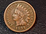 #4: 1891 U.S. Indian Head Cent / Penny Circulated