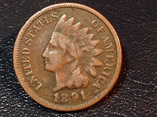 1891 U.S. Indian Head Cent / Penny Circulated (Indian Coin Cent)