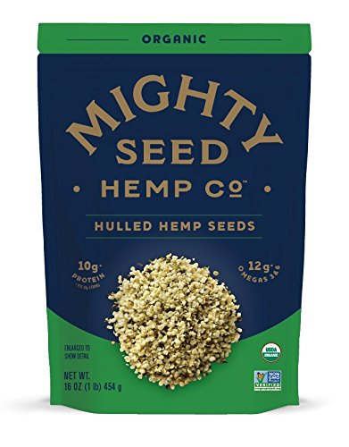 Price comparison product image Mighty Seed Hemp Hulled Seeds,  Organic,  16 Ounce