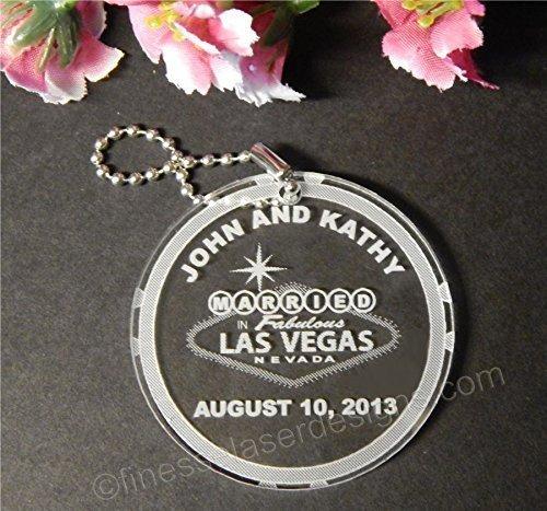 Keychains Las Vegas Wedding Favors - 5