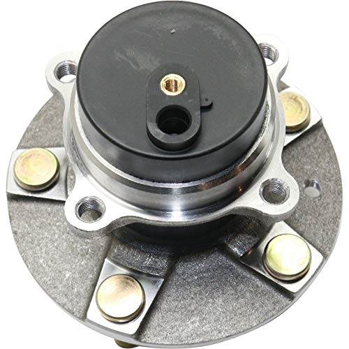 Wheel Hub and Bearing compatible with 2006-2015 Mazda MX-5 Miata Front Left or Right RWD With ABS Encoder Studs (Best Wheels For Mx5)