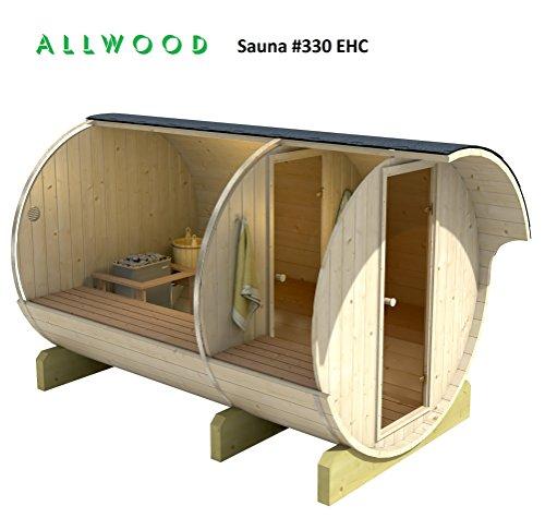 Allwood Barrel Sauna #330-EHC ELECTRIC HEATER | Steam Shower ...