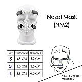 Comfortable Mask Nasal Adjustable with