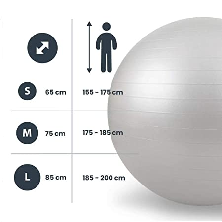 LDHVF Pelota de yoga fitness levante ball pelota de yoga ball ...