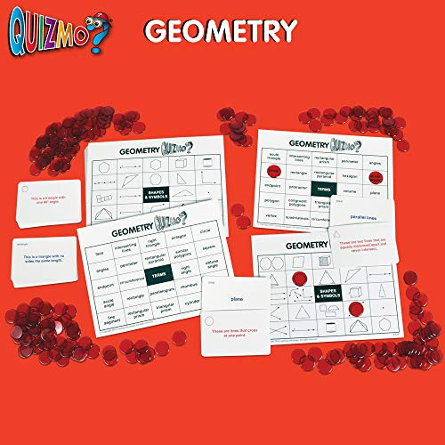 51oM4y7gKDL - Learning Advantage QUIZMO Advanced Elementary Math Series - Set of 6 Bingo-Style Math Games for Kids - Teach Fractions, Decimals, Math Vocabulary, Geometry, Place Value and Integers
