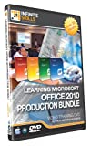 Discounted - Microsoft Office 2010 Production Bundle Tutorial DVD - Over 33 hours of Training