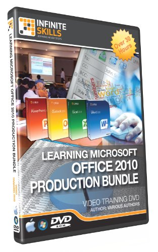 Microsoft Office 2010 Production Bundle Tutorial DVD