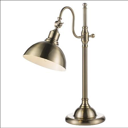 YXWtd Lámpara de Mesa de Dormitorio Nordic Loft Estudio ...