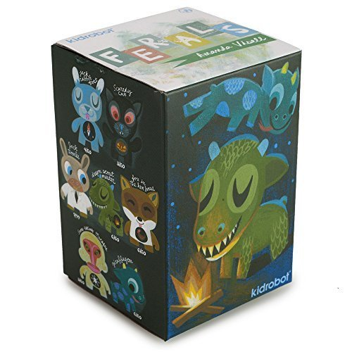 Kidrobot Mini Series Ferals by Amanda Visell (Styles Vary) Blind Box