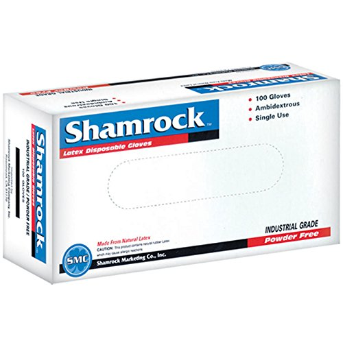 Shamrock 60411-S-cs Work, thin, No Powder, Thin, ,Rubber, Small, Natural by Shamrock