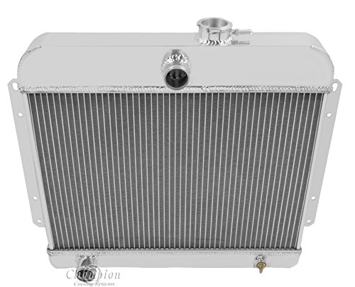- Champion Cooling, 3 Row All Aluminum Radiator for Willys Trucks/Wagons, CC4964