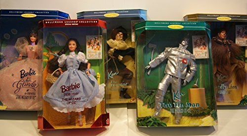 - Hollywood Legends Collection - Wizard of Oz Deluxe Barbie Set