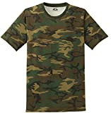 Joe's USA(tm) - Mens Military Camo-Camouflage T Shirts-L
