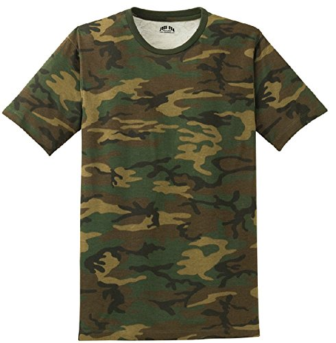 Joe's USA(tm) - Mens Military Camo-Camouflage T Shirts-M