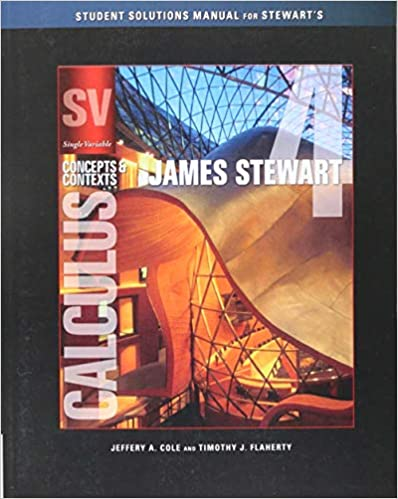 Student Solutions Manual (Chapters 1-8) for Stewart's Single