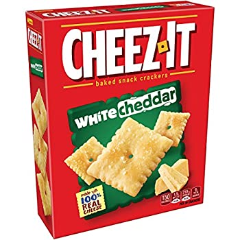 Cheez-it Baked Snack Cheese Crackers, White Cheddar, 7 Oz Box 0