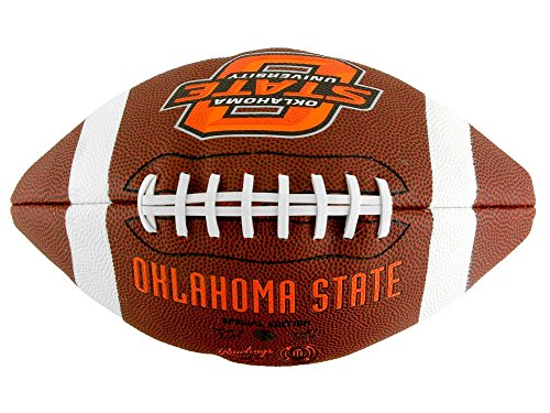 NCAA Game Time Full Size Football , Oklahoma State Cowboys, Brown, Full ()