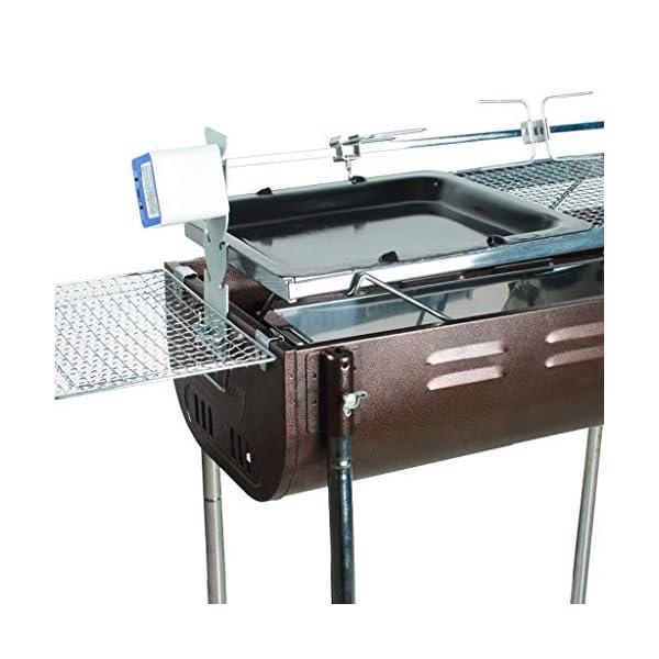 WangQ Griglia for Barbecue, Esterna Portatile casa for più di 5 Persone Addensato Barbecue Carbone Strumenti Barbecue a… 3 spesavip