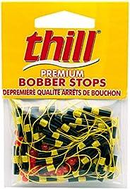 Thill Floats BS040 Premium Bobber Stops, Fluorescent Yellow