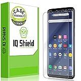 Galaxy S9 Screen Protector [2-Pack], IQ Shield LiQuidSkin...