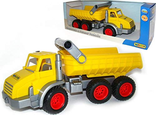 Wader Quality Toys Construct X-Large Dump Truck for sale  Delivered anywhere in USA